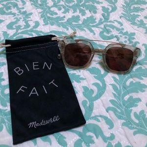 Madewell Lexington Top Bar Sunglasses